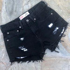 Levi's | 550 Cutoff Denim Shorts